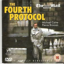 THE FORTH PROTOCOL - MICHAEL CAINE/PIERCE BROSNAN - DAILY MAIL PROMO DVD
