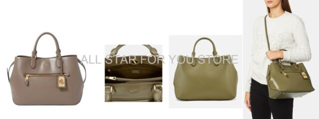 984f5988d0 Lauren Ralph Lauren Saffiano Leather Bag Sabine Medium Satchel ...