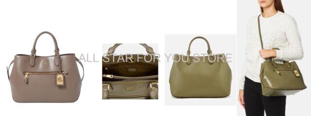 09c8d205f4b2 Lauren Ralph Lauren Saffiano Leather Bag Sabine Medium Satchel ...