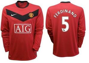 finest selection be857 127b8 Details about Original Manchester United FC Nike Home Tricot Jersey GR.XXL  Ferdinand