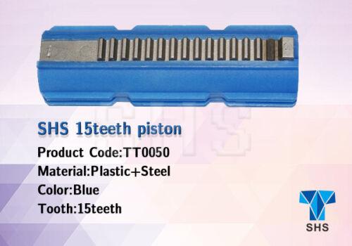 14 + 1 HALF AIRSOFT AEG SHS 15 teeth piston V2 V3  GEARBOX UPGRADE