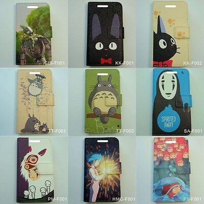 FM01 Japanese Anime Movie Studio Ghibli Japan Flip Cover Mobile Phone Case