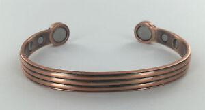 MENS-BIO-HEALING-COPPER-MAGNETIC-THERAPY-BRACELET-ARTHRITIS-PAIN-RELIEF