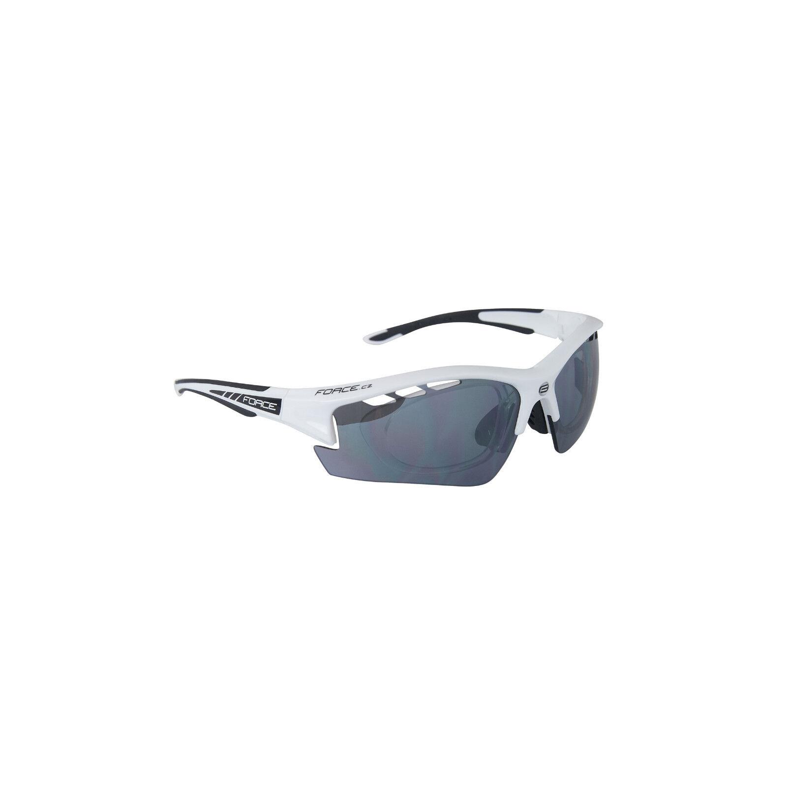 FORCE Brille mit Wechsellinsen & Dioptrien Clip Clip Clip bis 4 Diop Polycarb  90922x   | Mittlere Kosten  6ae9fc