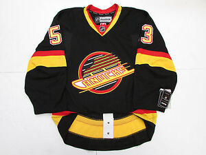 free shipping 091e7 0cdf1 Details about BO HORVAT VANCOUVER CANUCKS AUTHENTIC FLYING SKATE REEBOK  EDGE 2.0 7287 JERSEY