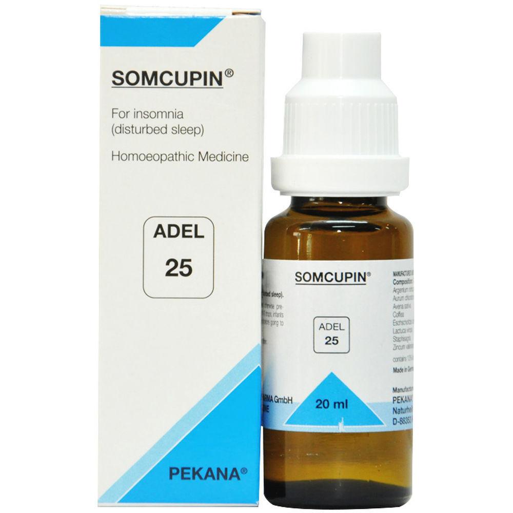 Adel Pekana 25 Somcupin for Insomnia Disturbed Sleep Sleeplessness 20mL 1