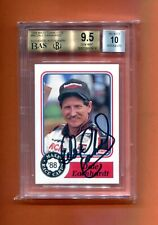 1988 MAXX DALE EARNHARDT SR AUTOGRAPH ROOKIE 100 MADE BGS 9.5/10 POP 1 MUST SEE