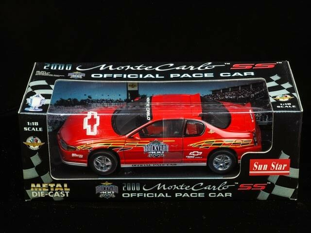 2000 Monte Carlo SS Off. Pace Car. Die Cast Metal Car Model.