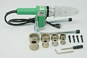 Details about 110V - HDPE Pipe Fusion Welding Tool w/ Case & 1/2, 3/4, 1 &  1-1/4