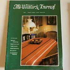 loopy yarns kitchen dyes Weaver/'s Craft magazine #15