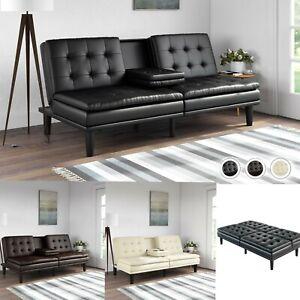 Details about Sofa Cama Sleeper Futon Studio Minimalist Bedroom Man Cave  Office Couch Moderna