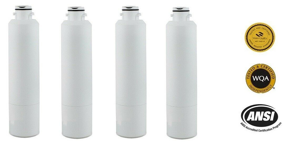 Replacement Water Filter-Samsung Refrigerator Models RF34H9950S4   RS261MDBP 4PK