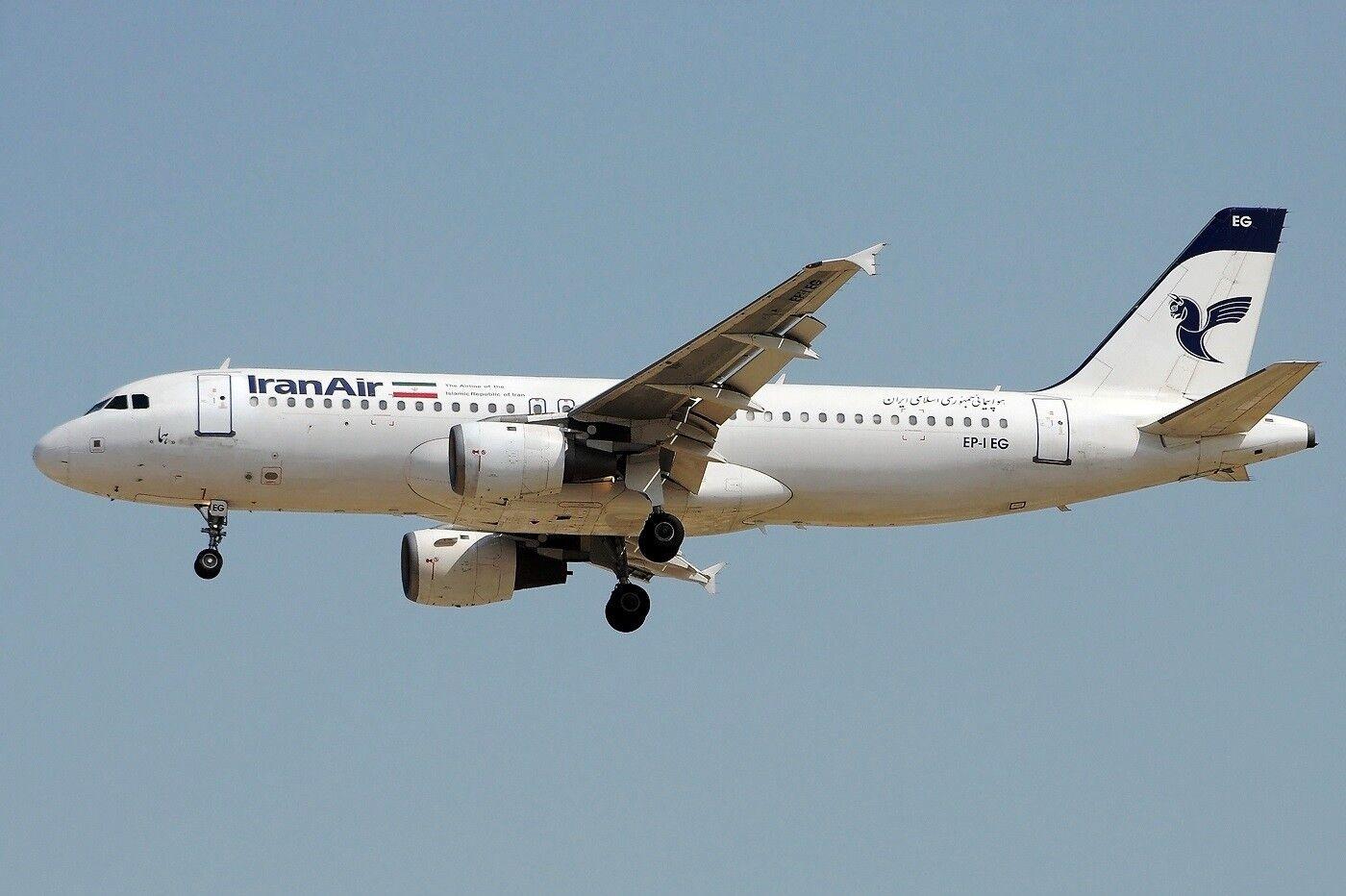 Jfox Jfa320007 1 200 Irán Aire Airbus  A320-211 Ep-Ieg  70% de réduction