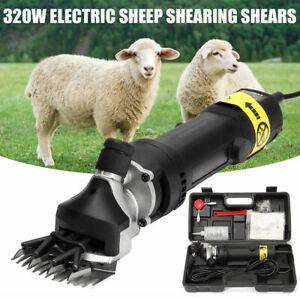 320w Tondeuse Électrique Tonte Cisailles De Laine Machine Moutons Chèvre Alpaga