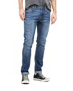 8252673f Lee Luke Slim Tapered Denim Jeans New Mens Stretch Regular Rise ...