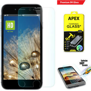 Wholesale Lot Premium Real Tempered Glass Screen Protector for iPhone 6/6 Plus