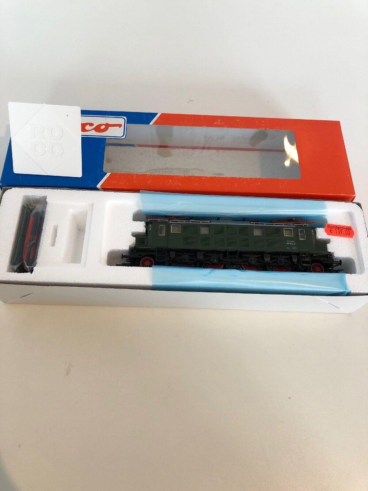 Spur H0 Roco 69625 E Lok BR 117 012-5 Digital AC Neuwertig OVP