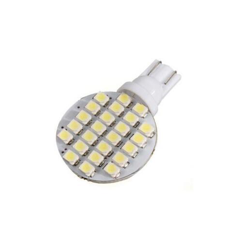 10x 12V LED T10 Warm White 24 SMD Lamp Bulb Car Garden Light Bulb Tent Camp