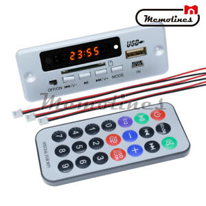 5V-LCD-MP3-Wireless-Decoder-Board-USB-TF-SD-Audio-FM-Radio-Kit-Module