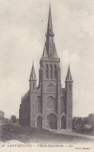 AK-Saint-Quentin-1914-L-Eglise-Saint-Martin-Feldpost