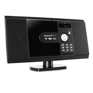(RICONDIZIONATO) AUNA Impianto Stereo Casa Audio Video Lettore CD DVD USB SD