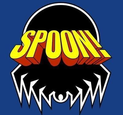 SPOON HERREN TANK TOP Comic Fun Superhero Der The Arthur Terror Tick Cartoon