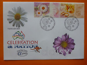 2003-ALPHA-CELEBRATION-amp-NATION-039-DAISY-039-ILLSUTRATED-FDC-2-STAMPS