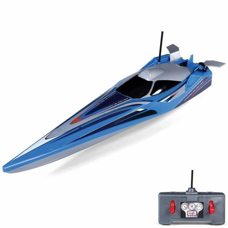 Maisto Speed Boat Hydro Blaster Remote Control Toy Twin Propellers M81322