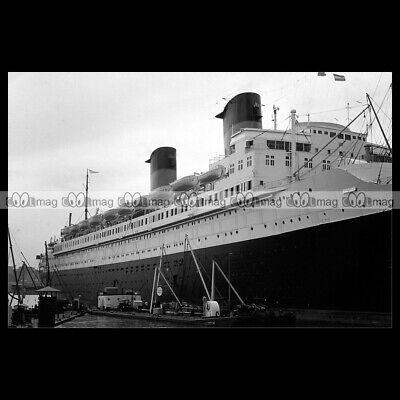 #php.03292 Photo PAQUEBOT SS ILE DE FRANCE GENERALE TRANSATLANTIQUE LINER 1932