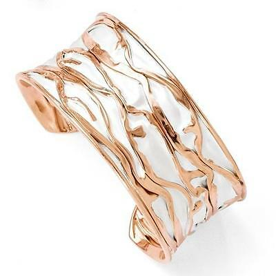Precious Metal Without Stones Fine Jewelry Rosegold Sterlingsilber Diamantschliff Gedreht