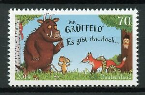 Germania-2019-Gomma-integra-non-linguellato-Gruffalo-Childrens-Books-1v-Set-Francobolli-cartoni