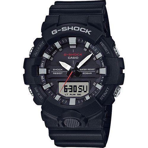 Casio G-Shock Mens Wrist Watch GA800-1A GA-800-1A Black Super Illumunator