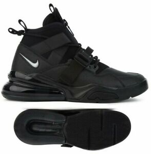 Details about New NIKE Air Force Max 270 Utility weatherproof Mens black  boot sneaker all sz