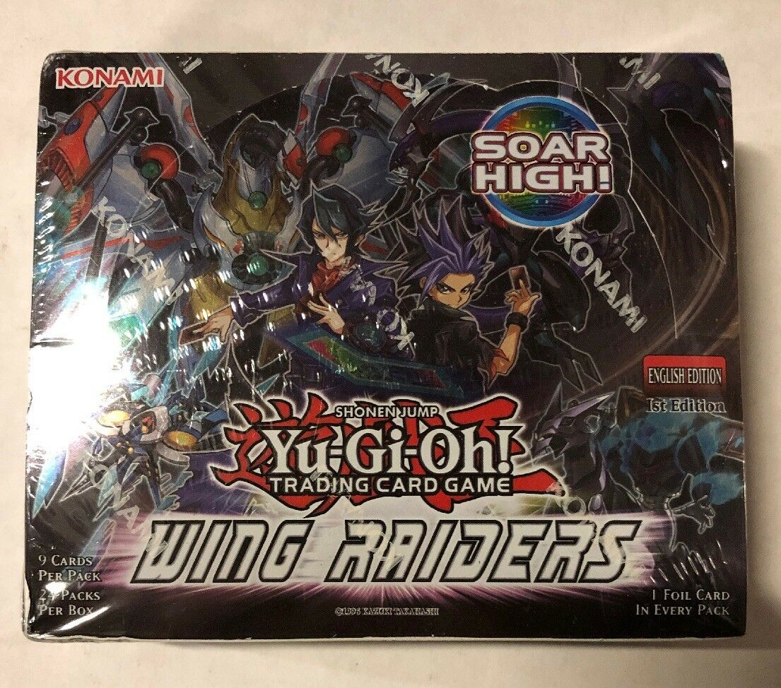 Yugioh Wing Raiders 1st Edition 24-Count Booster Box TCG CCG Cards