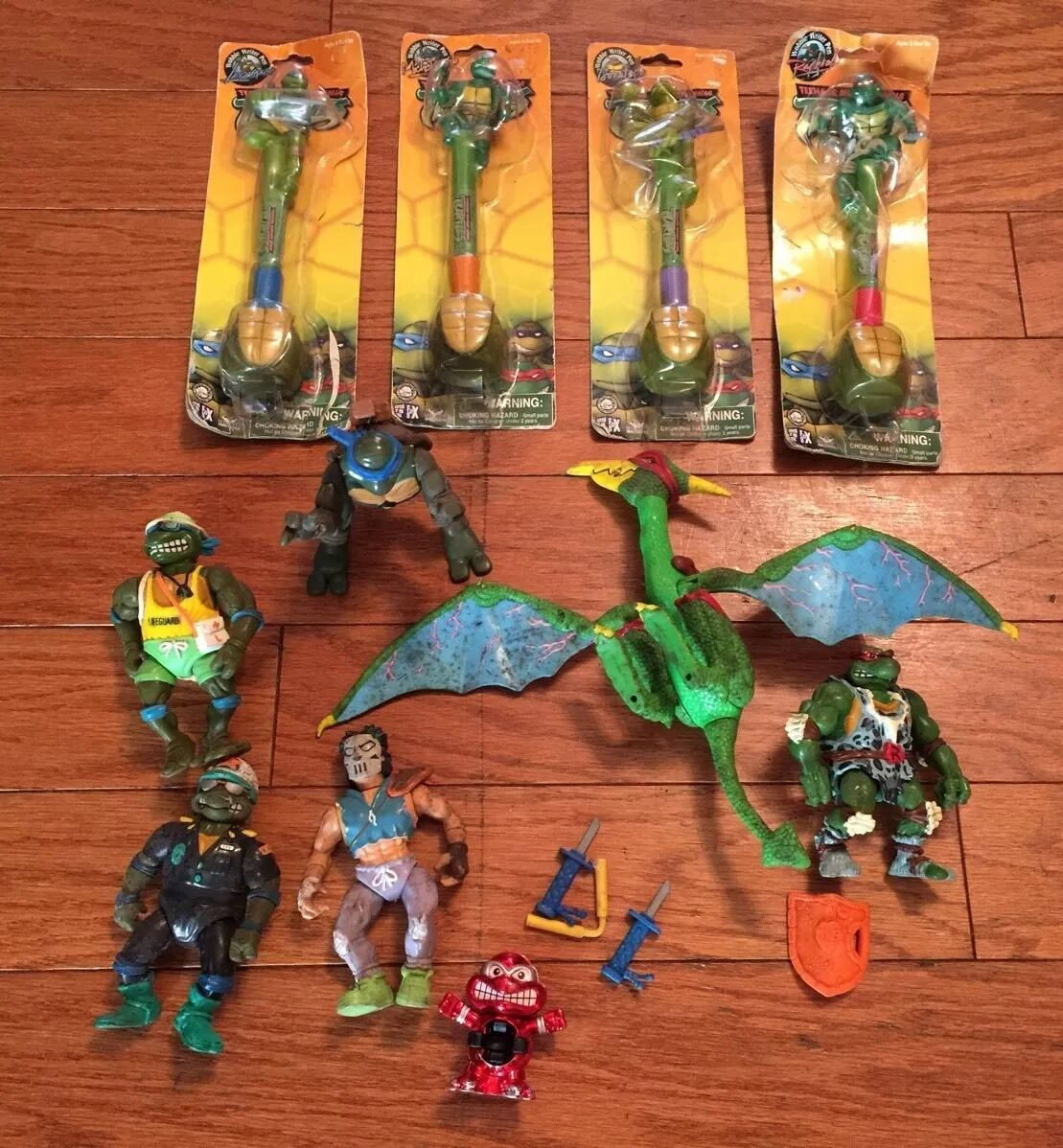 Teenage Mutant Ninja Turtles TMNT Figures & Etc RARE Collectibles