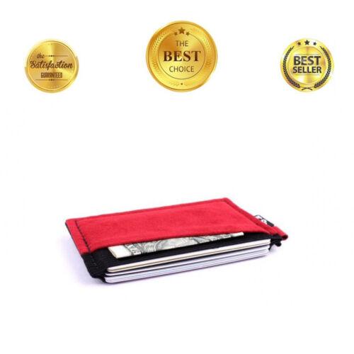 Elastic Front Pocket Credit Card Ebax Minimalist Slim Wallet For Men Women