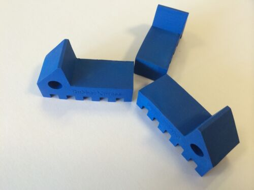24 pack RubberXpress NEW Blue Rubber feet for Flower Pots
