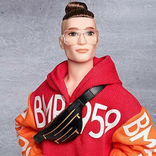 Barbie BMR1959 Doll Bold Logo Hoodie /& Shorts Barbara Millicent Roberts Fashion