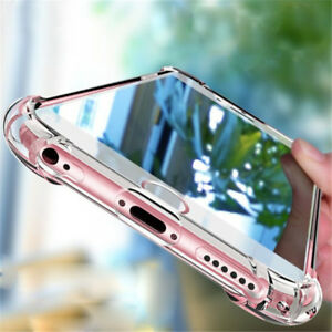For Huawei P Smart/P8 P9 P10 P20 Lite Shockproof Soft Transparent TPU Case Cover