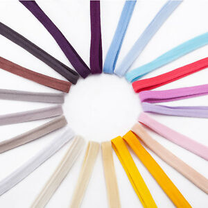 Neotrims-10mm-Flange-Insertion-Binding-Piping-Cord-100-Soft-Cotton-21-Colours