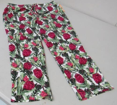 Gilligan /& O/'Malley Floral Capri Bottoms Sleepwear Pajamas Size XS M NEW TL51
