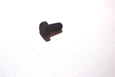 M8 x 16 mm  8.8 Sechskantschraube Schwarz  10 Stück  Din 933