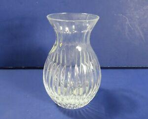 Miller-Rogaska-Handmade-Slovenia-Crystal-Vase-Reed-amp-Barton