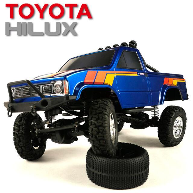 Thunder Tiger Toyota Hilux 1 12 Pick Up Truck Rtr Blue Ebay