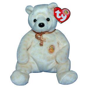 Ty Beanie Baby Popcorn - MWMT (Bear BBOM 2003)