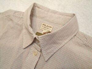 Filson-Women-039-s-100-Cotton-Hyland-Tattersall-Check-Sport-Shirt-NWT-Small-98