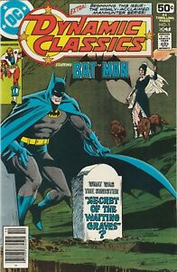 Dynamic-Classics-1-DC-1978-Batman-Paul-Kirk-Manhunter-HIGH-GRADE