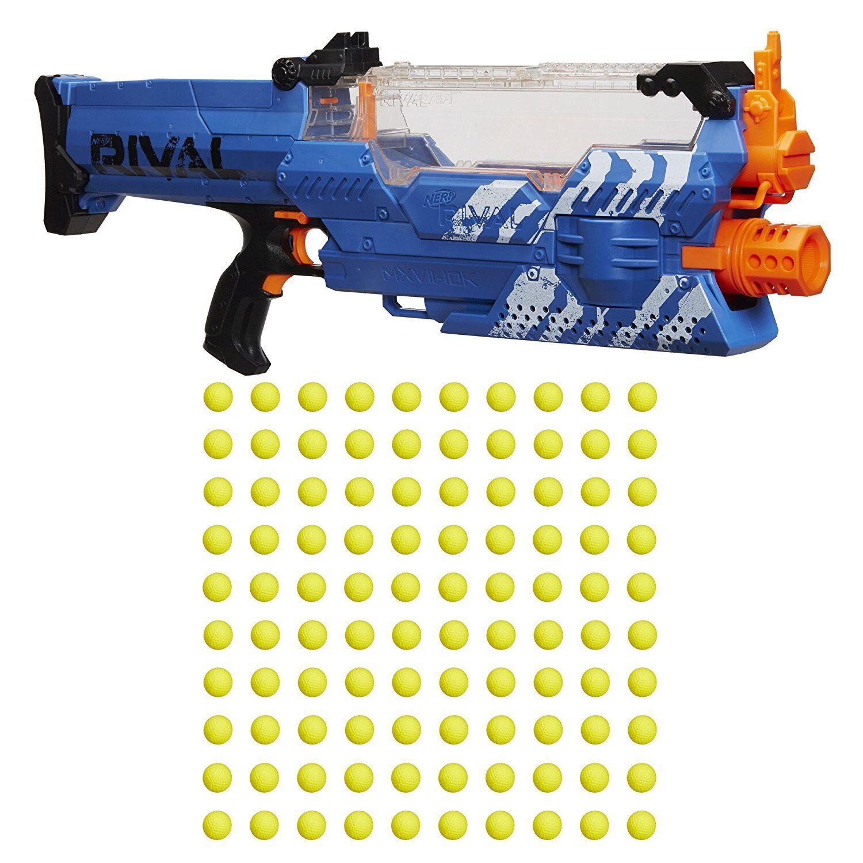 Nerf Rival Nemesis MXVII-10K  Brand new blaster  Team bluee Wow