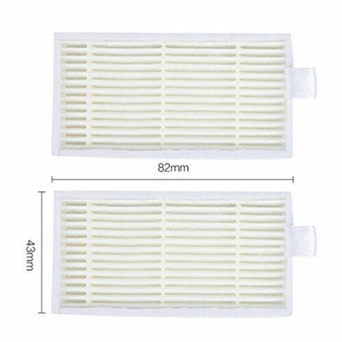 For ILIFE V3s V5 V5s V5s Pro Robot Vacuum Cleaner 6 Filter 6 Side Brushes New