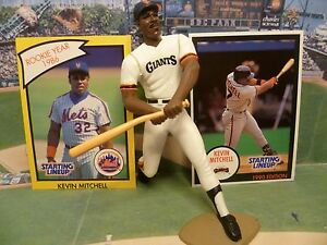 1990  KEVIN MITCH - Starting Lineup -SLU - Loose With Cards - S.F. Giants Giants